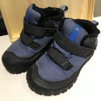 迪卡儂 藍色雪地童鞋