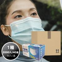 【易廷】清新宣言醫療/醫用口罩-1箱(40盒組)  (天空藍/花漾粉/優雅紫/酷炫黑-隨機出貨,不挑色) MD雙鋼印 國家隊【卜公家族】