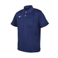 MIZUNO 男短袖POLO衫(免運 吸濕排汗 抗UV 慢跑 上衣 美津濃 台灣製「32TA151714」≡排汗專家≡