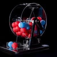 抽獎道具搖獎機抽獎機雙色球搖獎機選號器搖獎箱搖號機抽獎搖獎機