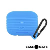 【CASE-MATE】AirPods Pro 軍規防摔防水保護套(藍色-贈掛環)