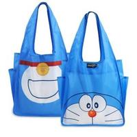 【murmur】哆啦A夢 小叮噹A4購物袋(環保袋.可收納.雙側快取口袋)