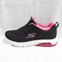 Skechers AIR-WINDHILL 女款 氣墊鞋 運動健走鞋 16098BKHP 黑x粉【iSport愛運動】