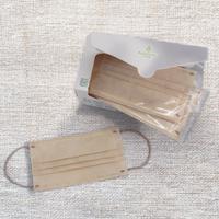 【預購11月出貨】聚泰科技 奶茶色 純色滿版三層醫用口罩 30入/盒,單片獨立包裝