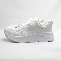 Skechers MAX CUSHIONING ELITE 女款 慢跑鞋 128044WSL 全白【iSport愛運動】