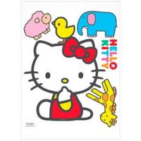 Hello Kitty磁磚壁貼(動物),磁磚貼/貼紙/佈置/車用貼紙/裝飾/玻璃貼/牆面佈置/壁貼/靜電貼,X射線【C003941】