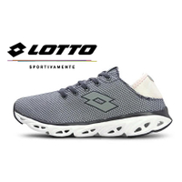 LOTTO樂得-義大利第一品牌 女款AIR FLOW-R 系列風動健走輕跑鞋 [5518] 灰【巷子屋】
