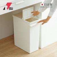 【日本RISU】日本製可分類按壓掀蓋式垃圾桶-附輪-30L(TOSTE  廚餘 分類 回收桶 垃圾分類桶)