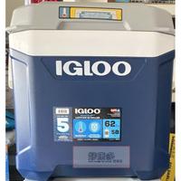 附輪拉桿冰桶 冰箱 小冰箱 行動冰箱 美國 IGLOO 5日鮮 58公升(62QT) COSTCO 代購 好市多