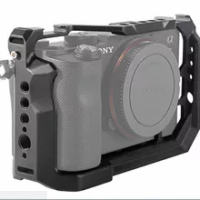 Camera Cage for Sony Alpha 7C A7C (ILCE7C) Camera For Sony A7C Camera Metal Cage Case Protective Housing Protection Frame