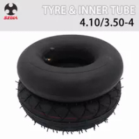 4.1/3.5-4 Heavy Duty Inner Tube Outer Tyre Wheel For Electric Gas Scooter ATV Bike Tricycle Baby Stroller Motorcycle