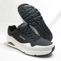 Skechers UNO-TIMELINE 男款 慢跑鞋 運動鞋 232247BKW 黑白【iSport愛運動】