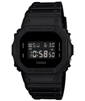 【CASIO卡西歐】G-SHOCK 磨砂黑經典防水電子錶 (DW-5600BB-1)