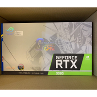 ASUS 華碩 ROG STRIX RTX3080 O10G GUNDAM 鋼彈 限量 顯示卡 台灣公司貨