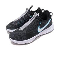 【NIKE 耐吉】籃球鞋 PG 4 EP 運動 男鞋 明星款 避震 包覆 拉鍊鞋面 球鞋 黑 藍(CD5082-004)