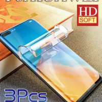 P50 ProPlus Screen Protector For Huawei Mate40RS P40 Pro Hydrogel Film P30 Mate 30Pro HD Soft Mate20Pro P40Lite P50Pro Mate40Pro