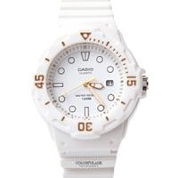 卡西歐 CASIO運動白色女膠錶 【NEC9】原廠公司貨