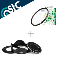 【銀行刷卡金+樂天點數回饋】STC Hood-Adapter 轉接環 快拆 遮光罩組+UV 46mm保護鏡【SONY RX100 VI VII M6 M7 六代 七代 專用】