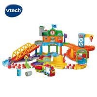 英國 Vtech 嘟嘟車系列 皇家建築電動火車鐵道組