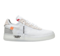 NIKE x OFF WHITE   รองเท้าผ้าใบ Nike OFF WHITE X Air Force 1 Nike Air Force One Joint Low