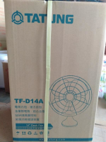 TATUNG 14吋元祖桌扇TF-D14A 顏色:黑色【99011993】桌扇 電風扇 風扇 涼風扇 《八八八e網購