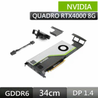 【NVIDIA】組裝聖品-NVIDIA Quadro RTX4000/8G GD6 /CUDA:2304/3年保