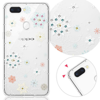 【YOURS】OPPO、realme 系列 彩鑽防摔手機殼-雪戀(realme8/Reno5Pro/Reno4Z/Reno5Z/realmeGT/realmeC21)