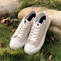 【moz】瑞典 駝鹿綁帶式帆布餅乾鞋(奶茶)