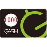 【即時給點】遊戲橘子 GASH 1000、5000點 點數卡需要多少買多少 - 可刷卡