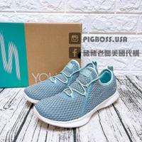 【豬豬老闆】SKECHERS YOU SERENE 藍色 透氣 假綁帶 健走 運動 慢跑鞋 女鞋 15840BLU