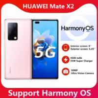 สต็อก! HUAWEI Mate X2 5G สมาร์ทโฟน8นิ้วพับหน้าจอ OLED Kirin 9000 Octa Core 55W SuperCharge NFC 50MP กล้องหลัก