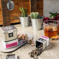 【samova 歐洲時尚茶飲】草本紅茶/咖啡因200ppm/Alberta Rodeo 放牧亞伯達(Tea Tin Mini系列)