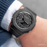 卡西歐G-SHOCK GA-2100-1A1/2110ET-2A/8A/SU-3A/1A/TH電子男手錶