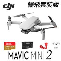 【DJI】Mini2 超輕巧型 4K 空拍機 無人機 公司貨 套裝版 +戶外玩家2年保險組(DJI 空拍機)