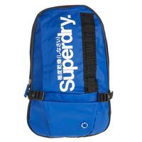 跩狗嚴選 絕版 極度乾燥 Superdry Logo 迷你後背包 靛藍 寶藍 側背 肩背 手提包 休閒背包