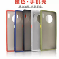 100pcs/lot Hybird PC+TPU Matte Case Cover For Huawei Mate 30 Pro / Mate 30 / P30 / P30 Pro / Mate 20 Pro / Mate 20