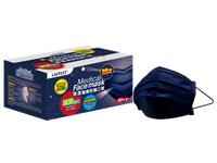 萊潔 醫療防護成人口罩-丹寧藍(50入/盒裝)(衛生用品,恕不退貨,無法接受者勿下單)
