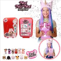 (台灣發貨)nanana surprise娃娃二代驚喜娜娜娜盲盒芭比lol娃娃玩具女孩套裝網紅女孩潮流扭蛋兒童嬰兒其他