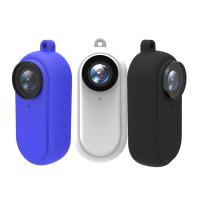 適用於Insta360 GO矽膠保護套 go磁吸保護套 拇指防抖相機運動防磕碰