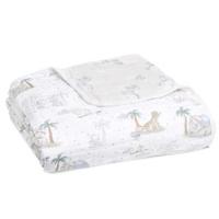 【aden+anais】夢幻經典蓋毯-寶貝小飛象(遊戲毯/被毯/外出毯/棉紗)