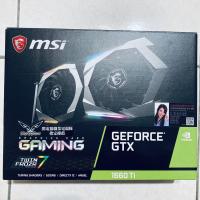 【微星】GeForce® GTX1660TI GAMING X 6G 顯示卡 / 原廠盒裝 / 參考RTX2060