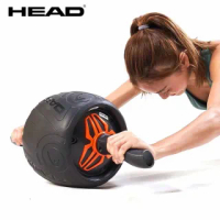【HEAD】專業迴力健腹輪(加大輪徑24cm)