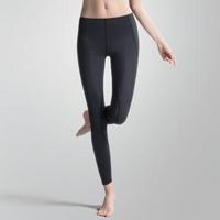 【Wacoal 華歌爾】LYCRA 運動 M-LL 九分壓力褲(運動黑)
