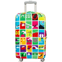 【LOQI】行李箱外套 / 奧運會 LMRTGA(M號)