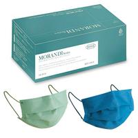 水舞 成人醫療平面口罩(莫蘭迪混色款-綠盒-2色各15片共30片/盒) [大買家]