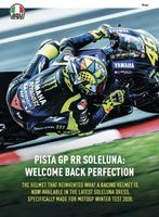 預購商品 任我行騎士部品 AGV Pista Gp RR Rossi 2020 Winter Test 賽事 安全帽