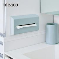【日本 ideaco】ABS壁掛/桌上兩用面紙架(衛生紙架 抽取式 紙巾盒 面紙盒)