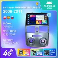 Untuk Toyota RUSH/ DAIHATSU TERIOS 2006-2011 Navigasi GPS Multimedia Carplay DSP Kamera Radio Mobil Android 10 2DIN WiFi IPS 8cor