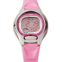 CASIO卡西歐 甜美粉嫩多功能休閒運動女腕錶童錶 十年電力系列 柒彩年代【NE1804】原廠公司貨