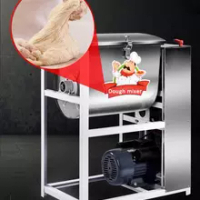 Flour mixing machine Commercial 25kg 2200W Automatic Stainless steel Dough Kneading and Beating machine Electric Flour Mixer